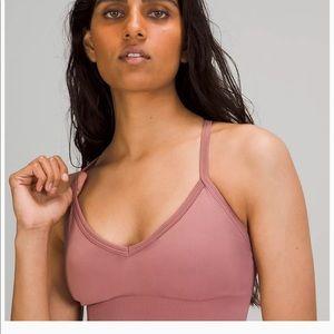 NWOT Lululemon Ebb to street seamless sports bra